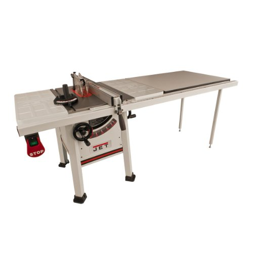 Jet 708493K JPS-10TS, 10-inch Proshop Tablesaw with 52-inch Fence, Steel Wings and...