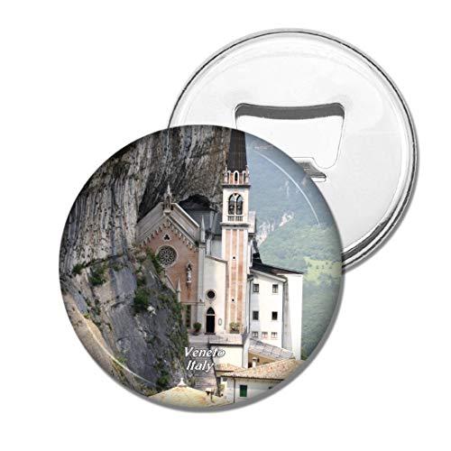 Weekino Madonna Della Corona Venetien Italien Bier Flaschenöffner Kühlschrank Magnet Metall Souvenir Reise Gift