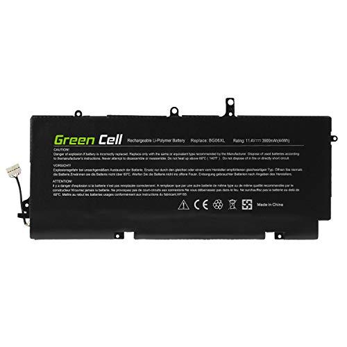Green Cell® BG06XL 804175-1B1 804175-1C1 805096-001 805096-005 HSTNN-IB6Z HSTNN-Q99C Laptop Akku für HP EliteBook Folio 1040 G3 (Li-Polymer Zellen 3900mAh 11.4V)
