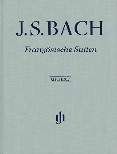 Französische Suiten BWV 812-817, revidiert; Leinenausgabe