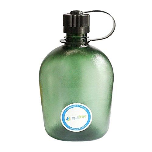 Nalgene Oasis Feldflasche, Foliage, 1 Liter
