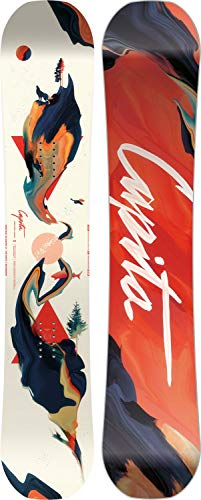 Capita Space Metal Fantasy Womens Snowboard | Park & All-Mountain Freestyle Board - 141cm Capita All Mountain Snowboard