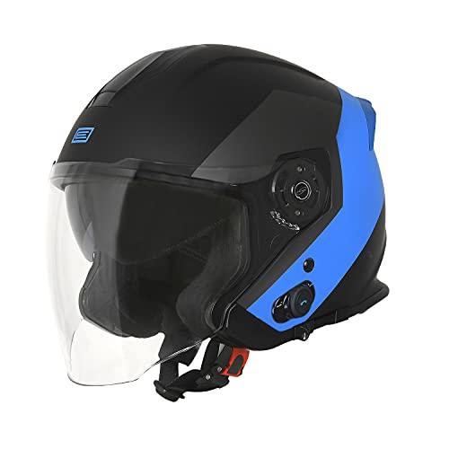 ORIGINE Motor Bluetooth Helm Jet Half Open 3/4 Face mit Dual Visor Intercom ECE 22-05