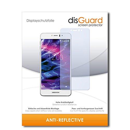 disGuard Bildschirmschutzfolie für Medion Life X5020 [2 Stück] Anti-Reflex, MATT, Entspiegelnd, Extrem Kratzfest, Anti-Fingerabdruck - Bildschirmschutz, Schutzfolie, Panzerfolie