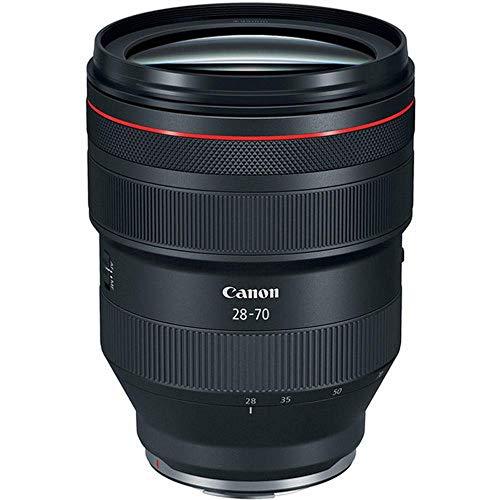 Canon - Objetivo RF 28-70mm f/2 L USM (Abertura f/1,2, Enfoque mínimo de 0,39 m, Motor USM, Abertura de 9 Hojas, Elementos del Objetivo UD, Serie L) Negro