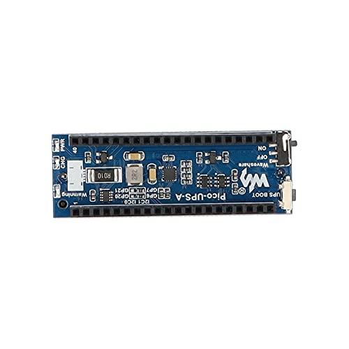 Sxiocta UPS-Modul für Raspberry Pi Pico Board Unterbrechungsfreier Netzteil UPS Hat Power Management-Erweiterungsvorstand 5V, Überwachung Der Batteriebetriebsstatus über Den I2C-Bus