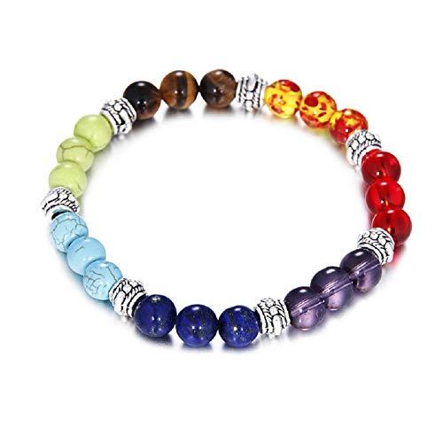LYsng Bracelets pour Fille Bracelets pour Femme Reiki Bracelet Bracelet d'énergie Élégant Bracelet L'anxiété Bracelet Stress Bracelet DIY Bracelet