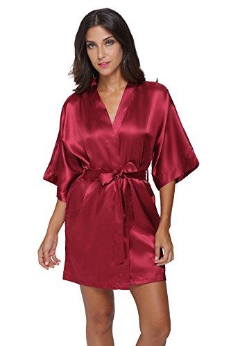 The Bund Sexy Silk Bathrobe for Women
