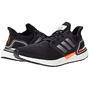 adidas Running Ultraboost 20 DNA Black/Iron Metallic/Football Blue 12 D (M)