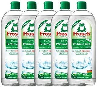 《セット販売》 旭化成 フロッシュ Frosch 食器用洗剤 パフュームフリー つめかえ用 (750mL)×5個セット 詰め替え用