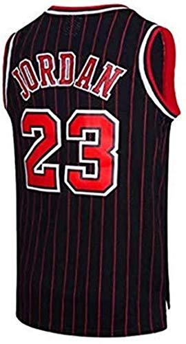 Zxwzzz For Hombre De La NBA Michael Jordan No.23 Chicago Bulls Jersey Baloncesto Retro Gimnasia Chaleco Deportes Top (Color : D, Size : Large)