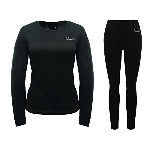 Dare 2b Insulate Base Layer Set voor dames, zwart, maat 16