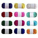 TwoCC-Lana,zapatillas de lana de 12 colores,línea de zapatos de ganchillo,línea de acrílico,zapatillas de ganchillo,línea de ganchillo,manual de bricolaje