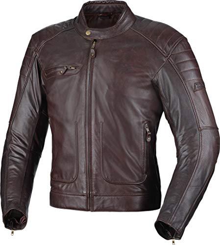 Büse Chester Motorrad Lederjacke Dunkelbraun 50