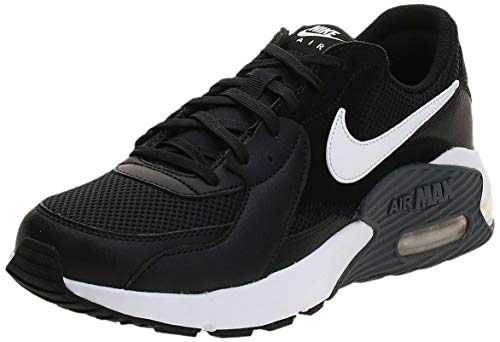 Nike Herren Air Max Excee Sneaker, Black/White-Dark Grey, 45 EU