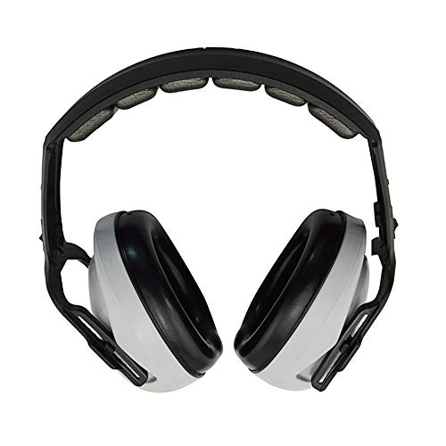 Soundproof Earmuffs Adjustable Noise Cancelling Ear Muffs Best Hearing Protectors Headband Ear Defenders For Children And Adults Ear Defenders Muff for Adults Kids ( Color : Gray , Size : Free size )