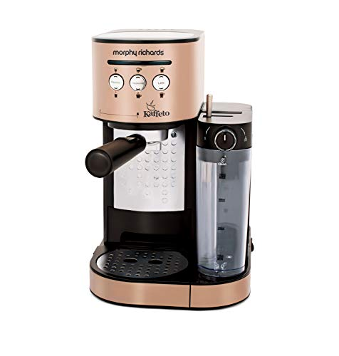 Morphy Richards Kaffeto 1350 W Milk Frother and Coffee Maker