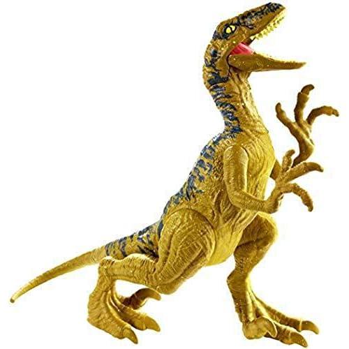 Jurrasic World Dino Rivals Velociraptor Dinosauro Articolato, Giocattolo per Bambini 3+ Anni, GCR46