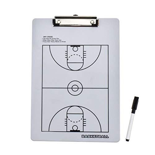 Cicony Tablero magnético de Entrenamiento de fútbol, Tablero de tácticas de fútbol, Tablero Marcador de táctica de Baloncesto de Pizarra Blanca