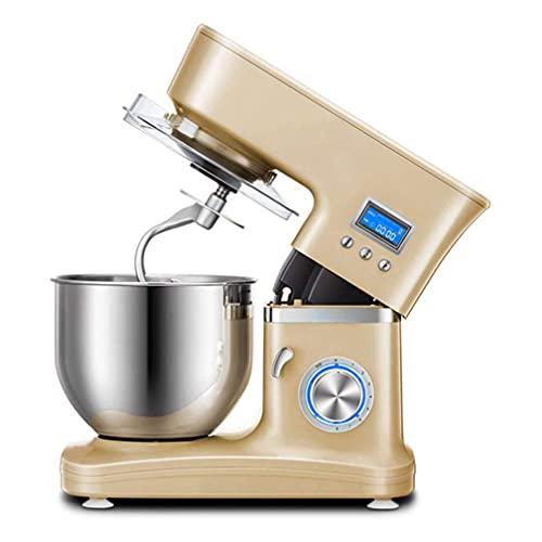 Robot da cucina elettrici per la cottura al forno con 8 velocità e impostazione a impulsi, perfetti per la cottura in casa Cucina include gancio per impastare, frusta