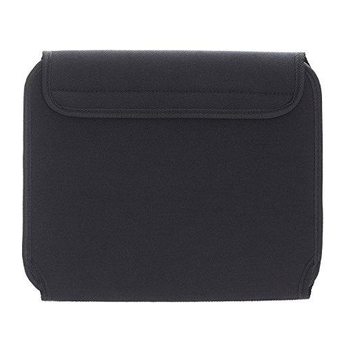 Elektronica Organizer Case Bag, JOTO Travel Gear Management Organizer voor Elektronica Accessoires Gereedschap Kabels Cosmetica Persoonlijke Zorg Kit met Mouwtas voor Tabletten iPad Laptops 10.1-Inch (Zwart)