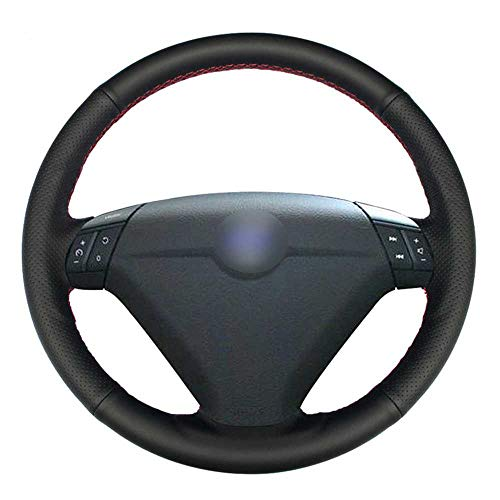 HJPOQZ Cubierta de Volante de Coche DIY, para Volvo S80 2004 2005 XC70 2004-20010 S60 2004-2010 XC90 2004-2006