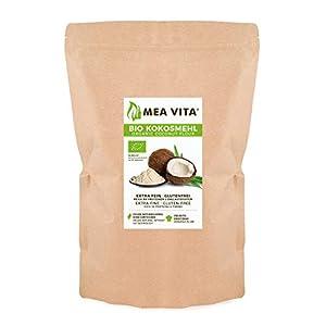 Meavita Meavita Harina de Coco Orgánica, 1 Paquete (1 x 1000 g)
