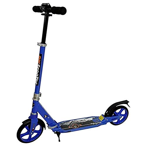 Best Buy! Goquik Large Adult Adult Youth Kick Scooter, Double Suspension Commuter Scooter, with Stan...