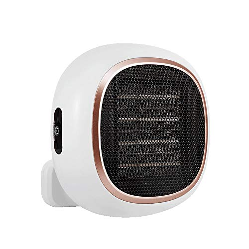litthb Electric Heater, Desktop Small Sun, Wall-Mounted Heater Fan, Efficient Heating, Multiple Protection, No Noise, Suitable for Desks, Dormitories, Bathrooms