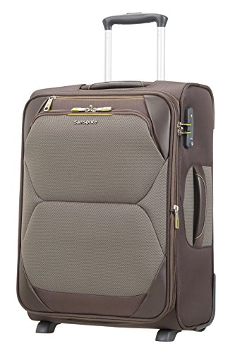 SAMSONITE Dynamore Upright 55/20 Expandable Length 40Cm - 2.5 KG, 43 L Bagaglio a mano, 55 cm, 50 liters, Marrone (Taupe)