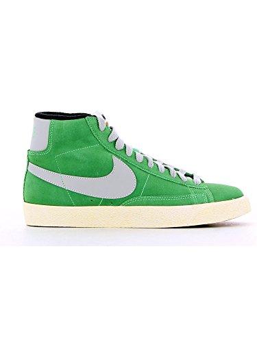 Nike Blazer Mid Premium Vintage Camoscio - Poison Green/Strata Grery-Nero, Taglia 42