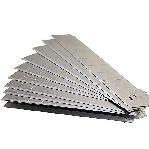 Cuttermesser Klingen Cutterklingen Stahl 18mm (1000 Klingen)
