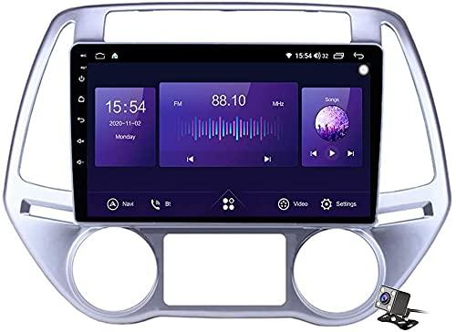 Android 10.0 Navigazione GPS Autoradio per Hyu-ndai i20 PB 2012-2014 IPS Schermo tattile Autoradio Stereo Supporta Il Controllo del Volante BT Mirror-Link 4G WiFi