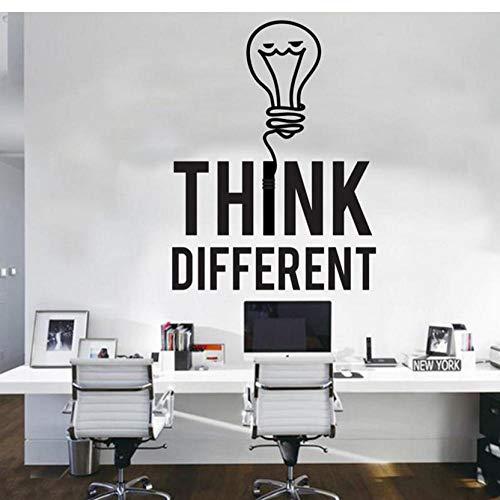 Denk aan een groot aantal lampen, ideaal kantoor, sticker, vinyl, raamdecoratie, wanddecoratie, afneembaar behang