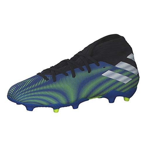 adidas Nemeziz .3 FG, Zapatillas de fútbol Hombre, AZUREA/FTWBLA/Amasol, 40 2/3 EU