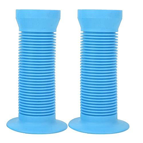 Manopole Antiscivolo in Gomma per Bambini Manopole per Bici per Bambini Copertura Manubrio(Blue)