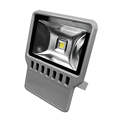 eTopLighting Outdoor LED Flood Light 100W Daylight White 120V Ultra Bright Home Garden Security Lighting Fixture