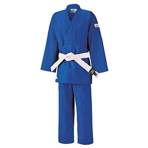 Mizuno Judogi Kodomo 350 g Azul con cinturón, 150