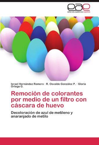 Remoción de colorantes por medio de un filtro con cáscara de huevo: Decoloración de azul de metileno y anaranjado de metilo