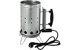 Kynast elektrischer Grillanzünder - Anzündkamin für Grillkohle und Grillbrikets 613-400202