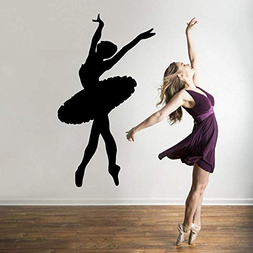 Ballerina behang huis decoratie muur sticker muursticker kind decoratie 43x75cm