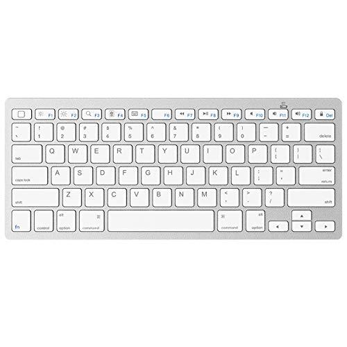 OMOTON Universal Slim Portable Wireless Bluetooth Keyboard Compatible with iPad Pro 11/12.9, iPad...