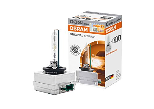 OSRAM XENARC OEM 4300K D3S HID XENON Headlight bulb 35W 66340 by ALI w/11 digit Security Label - Made in Germany (Pack of 1)
