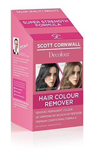 Scott Cornwall Decolour Remover, Removes Unwanted Permanent Hair Colour