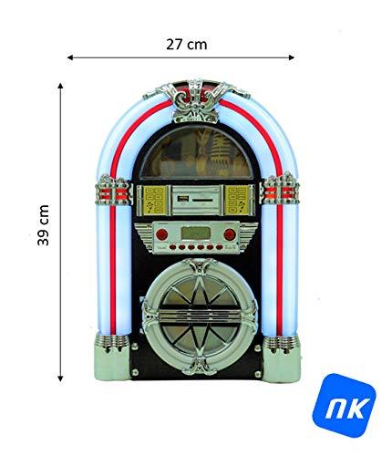 NK Mini Jukebox avec Am/FM/USB/SD/BT/CD