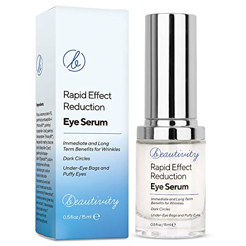 Rapid Reduction Eye Serum Eye Cream,Anti-Aging Rapid Reduction Eye Cream, Reduces Wrinkles, Under-Eye Bags, Dark Circles, Fine Lines & Crow's Feet Instantly and Visibly for Women Men