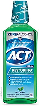 ACT Restoring Anticavity Fluoride Mint Burst Mouthwash