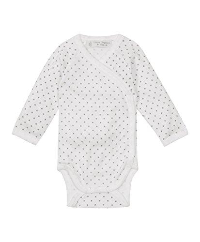 Sense Organics Ygon - Body - à étoiles - Bébé garçon, Blanc (AOP little stars 189001), 1 mois (Taille fabricant: 3-6 Months)
