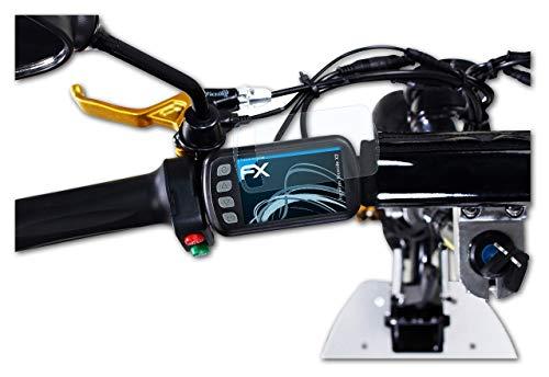 atFoliX Film Protection d'écran Compatible avec eFlux Freeride X2 Protecteur d'écran, Ultra-Clair FX Écran Protecteur (2X)