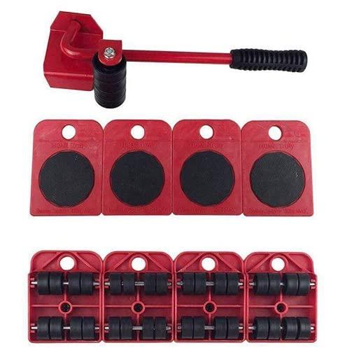 SALDI24 - MACISTE LO SPOSTA MOBILI, set per sollevare mobili, Rullo di Trasporto, Facile per spostare mobili pesanti, Divani e Frigoriferi